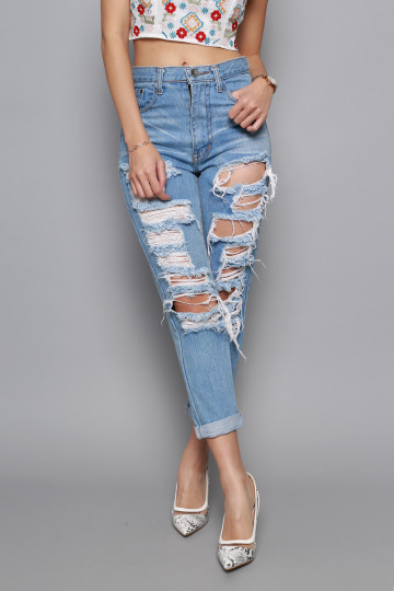 TEAR IT WEAR IT JEANS image