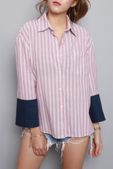 FRENCH CHIC STRIPE SHIRT image