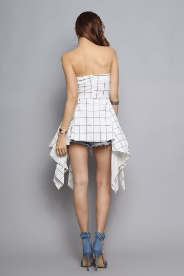 INSTANT CRUSH GRID TUNIC image