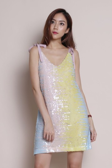 EVENING STAR SEQUIN DRESS (PADDLE POP) (PREMIUM) image