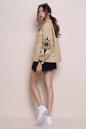 LAND OF RISING SUN PARKA (KHAKI) image