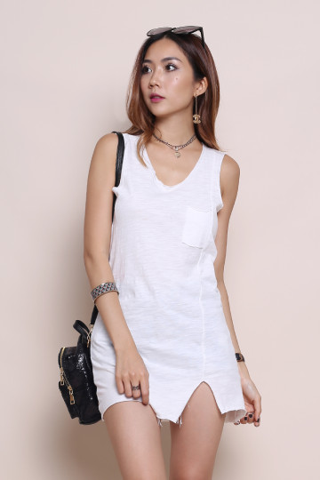 POCKET TUNIC (WHITE) image