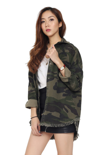 READY FOR IT CAMO SHIRT (PREMIUM) (BACKORDER) image