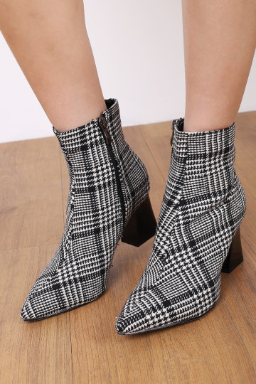 STELLA HOUNDSTOOTH BOOTS image