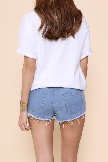 GO BIG DENIM SHORTS image