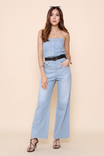 KOURTNEY TUBE JUMPSUIT (PREMIUM) image