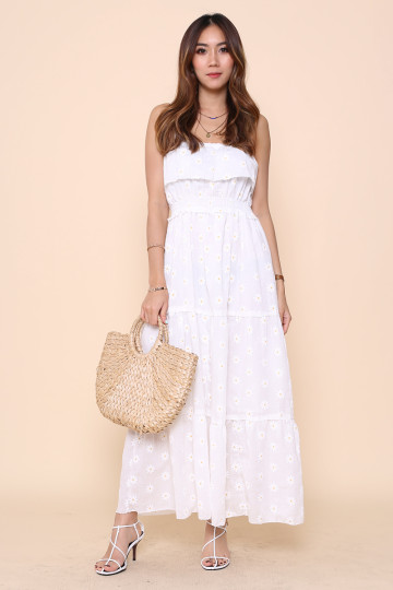 OOPSY DAISY DRESS (WHITE) image