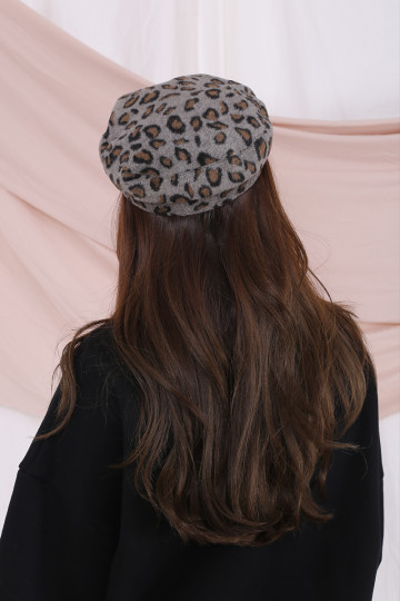 WILD SIDE BAKER BOY HAT (GREY) image