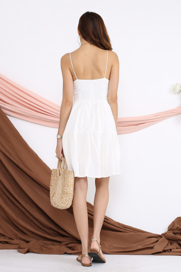 SUNDAY BRUNCH BUCKLE DRESS (PREMIUM) image