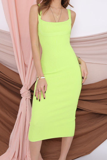 LIMELIGHT BANDAGE MIDI DRESS (PREMIUM) image