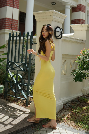 SUNFLOWER SUNDAY DRESS (BACKORDER) image